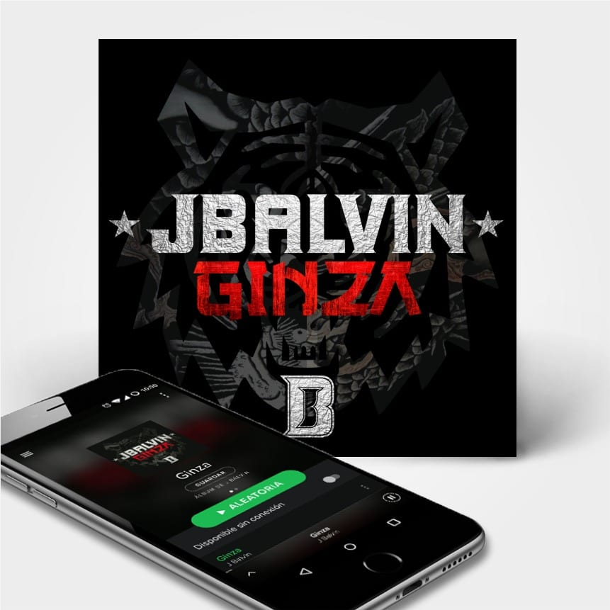 ginza jbalvin 2heart dispositivo movil