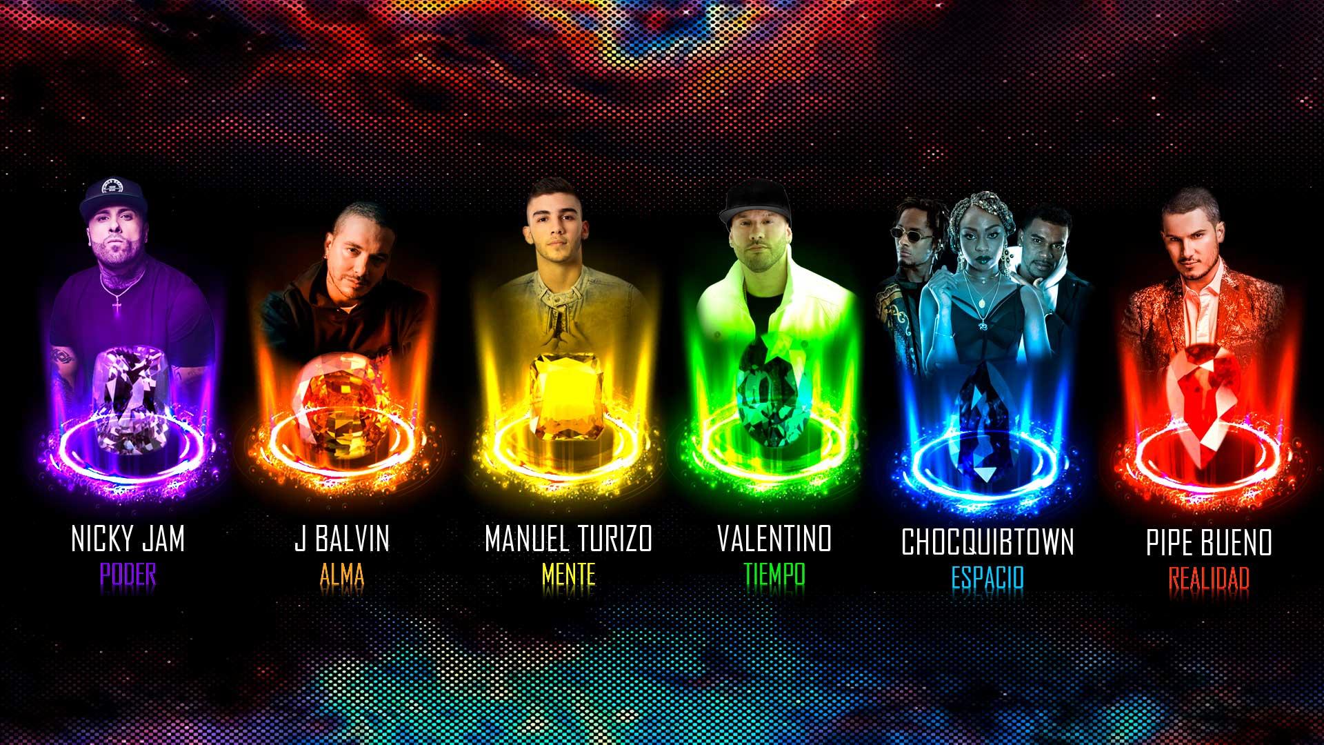 Infinity War Gemas De Poder Artistas 2heart