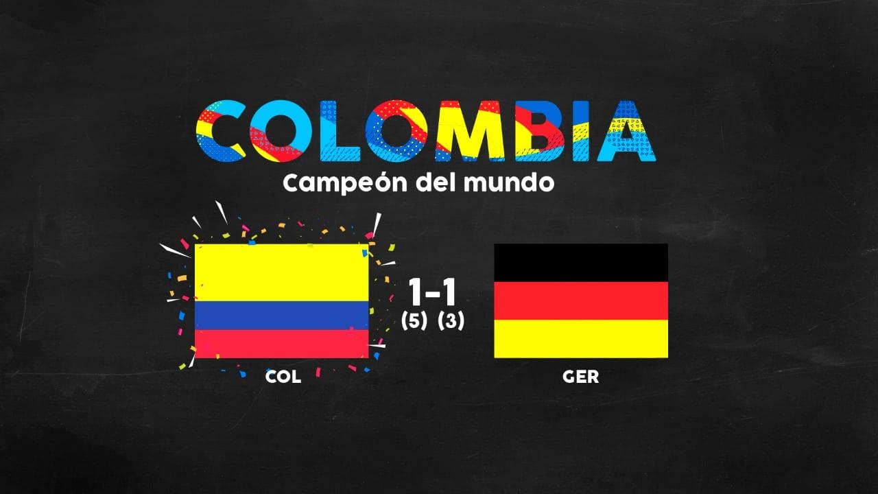 ¡Colombia Campeón Del Mundial De Fútbol 2018!