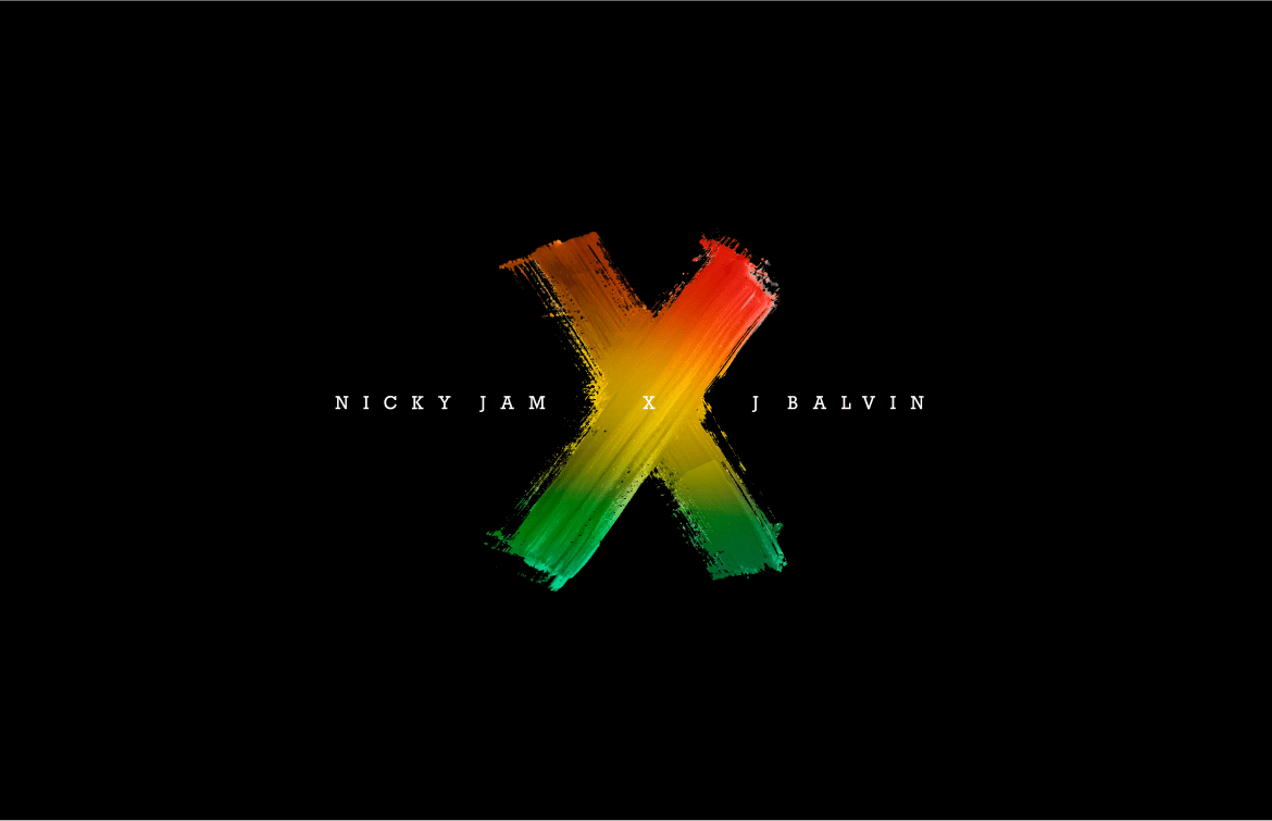 Equis X Nicky Jam Y J Balvin Logo 2heart