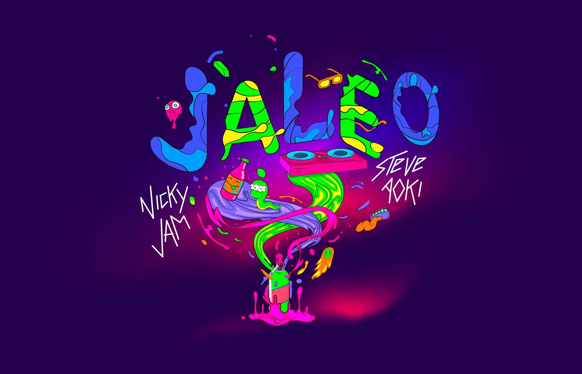 Nicky Jam Y Steve Aoki Jaleo 2heart