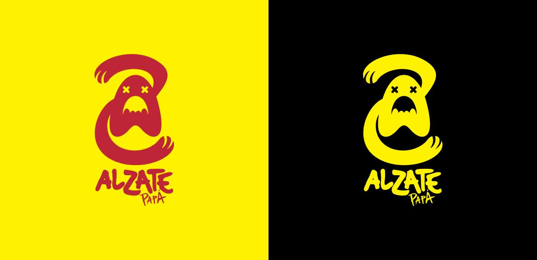 Alzate Papá 2heart logo variaciones