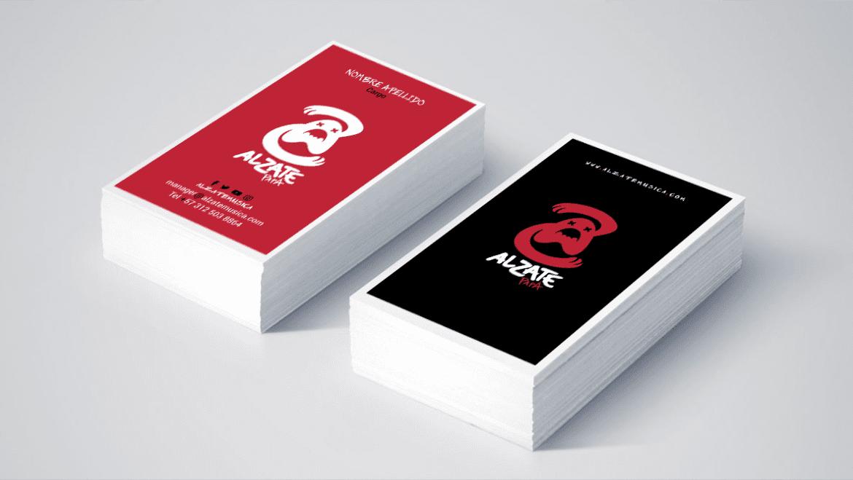 Alzate Papá 2heart tarjetas personales