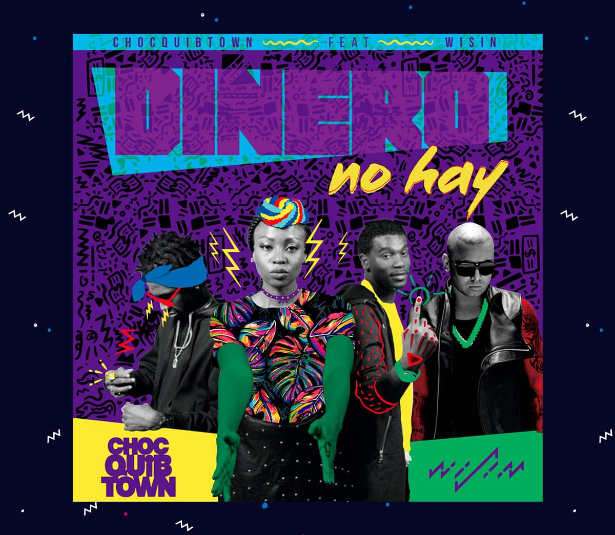 ChocQuibTown (Dinero no Hay) CD Cover