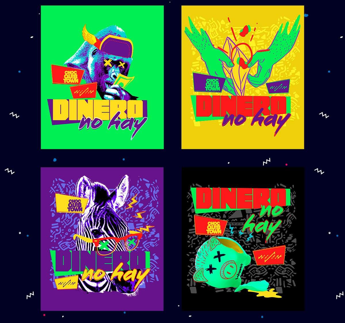ChocQuibTown (Dinero no Hay) Ropa Camisetas Covers