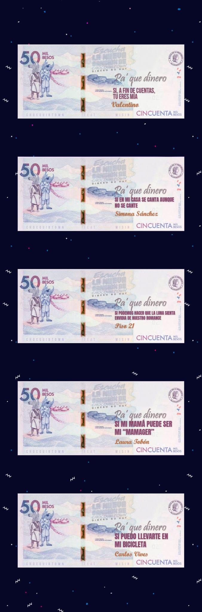 ChocQuibTown (Dinero no Hay) Billetes