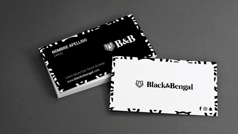 tarjetas personales b&b 2heart